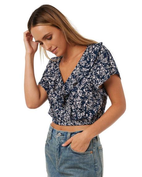 DARK SLATE WOMENS CLOTHING BILLABONG FASHION TOPS - 6572093SLA