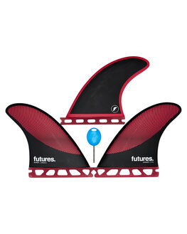 BURGUNDY BLACK BOARDSPORTS SURF FUTURE FINS FINS - 1176-161-00BURBK