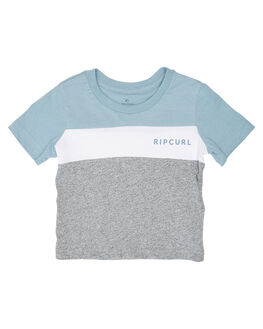 BLUE GREY KIDS BOYS RIP CURL TOPS - OTESG21005