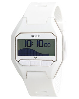 WHITE WOMENS ACCESSORIES ROXY WATCHES - ERJWD03290XWWW