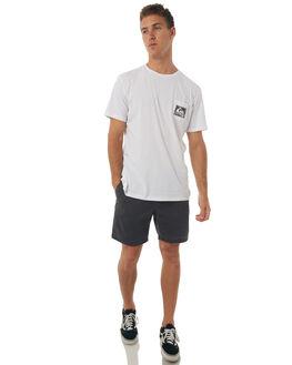 WHITE MENS CLOTHING QUIKSILVER TEES - EQYZT04656WBB0