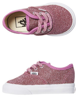 PINK KIDS TODDLER GIRLS VANS FOOTWEAR - VNA38E7U3UPNK
