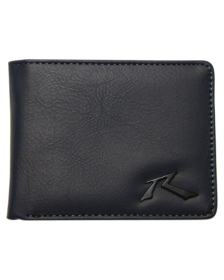 NAVY BLUE MENS ACCESSORIES RUSTY WALLETS - WAM0524NVB