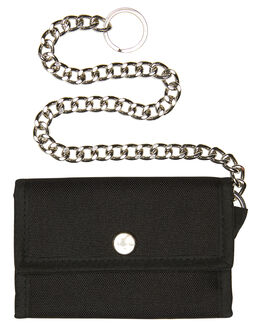BLACK MENS ACCESSORIES THRILLS WALLETS - TH8-1014BBLK