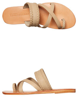NUDE WOMENS FOOTWEAR JUST BECAUSE FASHION SANDALS - SOLE1188NUDE