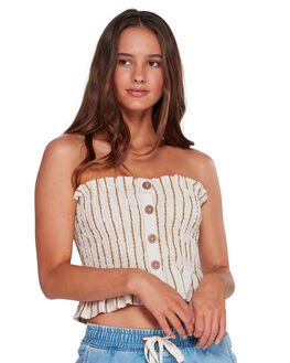 WHISPER WOMENS CLOTHING BILLABONG FASHION TOPS - BB-6592113-WPR