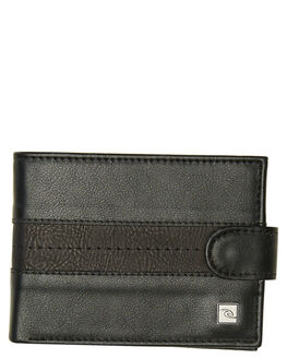 BLACK MENS ACCESSORIES RIP CURL WALLETS - BWUKJ20090