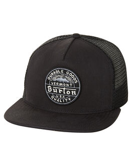 TRUE BLACK MENS ACCESSORIES BURTON HEADWEAR - 179051001