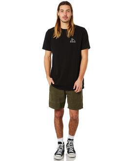 BLACK MENS CLOTHING DEPACTUS TEES - D5184006BLACK