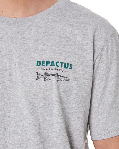GREY MARLE MENS CLOTHING DEPACTUS TEES - D5204003GRYML