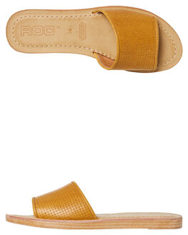 YELLOW OUTLET WOMENS ROC BOOTS AUSTRALIA FASHION SANDALS - BAMBOOYLW