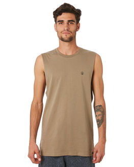 BRINDLE MENS CLOTHING VOLCOM SINGLETS - A3731624BNL