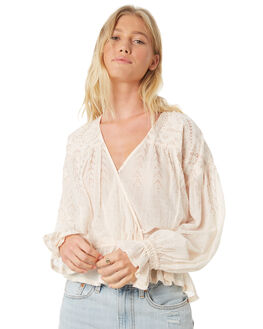 IVORY OUTLET WOMENS FREE PEOPLE FASHION TOPS - OB874637IVO
