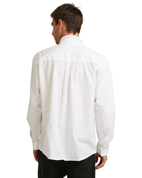 SNOW WHITE MENS CLOTHING QUIKSILVER SHIRTS - EQYWT04007-WBK0