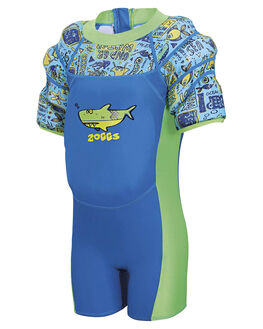 BLUE CINA MULTI KIDS TODDLER BOYS ZOGGS SWIMWEAR - 8021180BCM