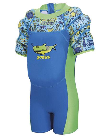 BLUE CINA MULTI KIDS TODDLER BOYS ZOGGS SWIMWEAR - 8021180BCM