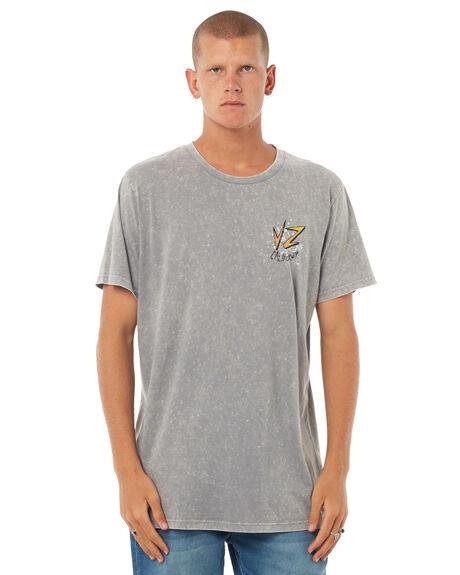 GREY ACID MENS CLOTHING VONZIPPER TEES - 3972003GACID