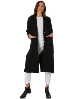 BLACK WOMENS CLOTHING THE BARE ROAD JACKETS - 990241-01BLK