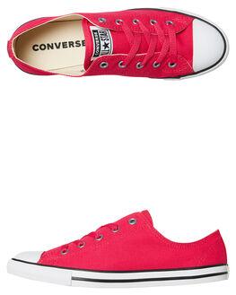 PINK POP WOMENS FOOTWEAR CONVERSE SNEAKERS - 561646PNKP