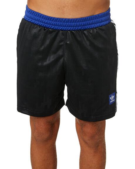 BLACK MENS CLOTHING ADIDAS SHORTS - DU3903BLK