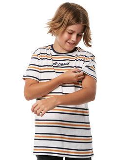 VINTAGE WHITE KIDS BOYS ST GOLIATH TEES - 2413007VWHT