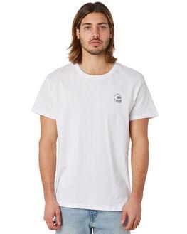 WHITE MENS CLOTHING CHEAP MONDAY TEES - 0588063WHT