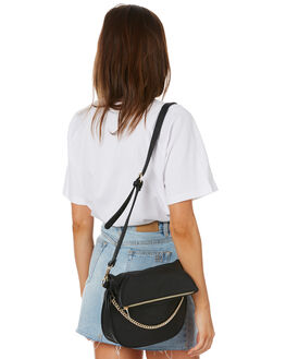 BLACK WOMENS ACCESSORIES RUSTY BAGS + BACKPACKS - BFL1053BLK