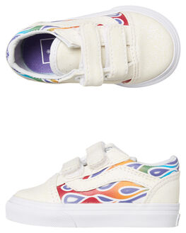 FLAMES KIDS GIRLS VANS FOOTWEAR - VNA344KVISFLMS