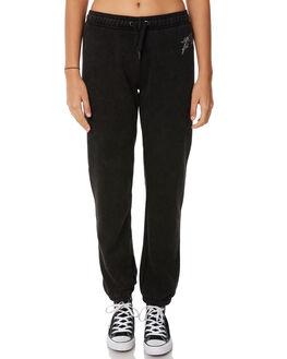 BLACK WOMENS CLOTHING RUSTY PANTS - PAL1052BLK