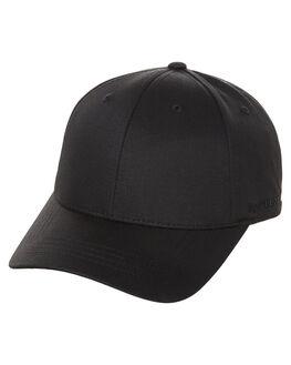 BLACK MENS ACCESSORIES FLEX FIT HEADWEAR - 171104BLK