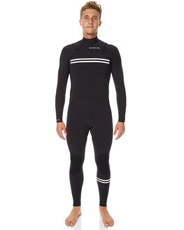BLACK SURF WETSUITS NARVAL WETSUITS STEAMERS - NW-MBC6005BLK