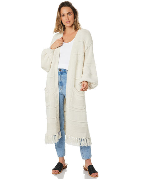 OATMEAL WOMENS CLOTHING TIGERLILY KNITS + CARDIGANS - T303136OAT