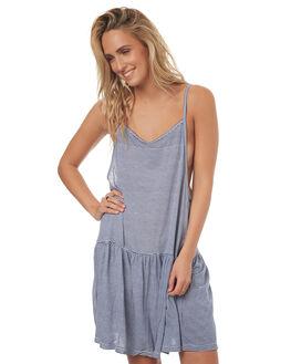 BLUE STRIPE WOMENS CLOTHING LILYA DRESSES - JD06-LSM17BLUS