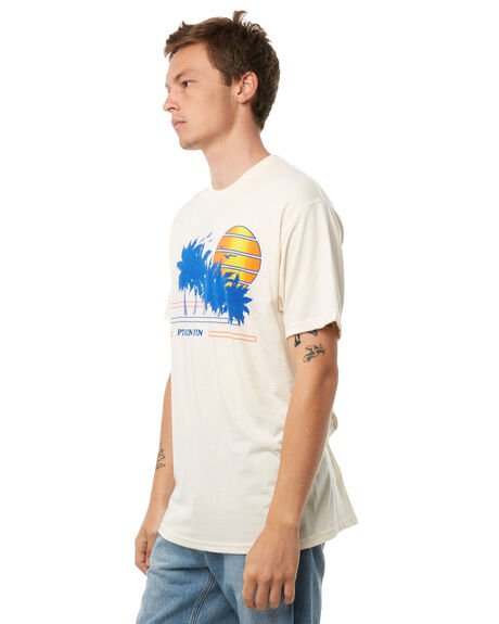 BONE MENS CLOTHING CAPTAIN FIN CO. TEES - CT181041BNE