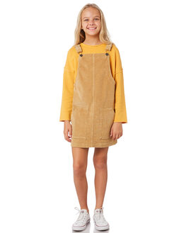 HONEY KIDS GIRLS EVES SISTER DRESSES + PLAYSUITS - 9531071YLW