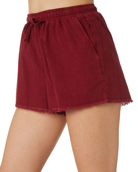 RUST WOMENS CLOTHING SWELL SHORTS - S8171233RUST