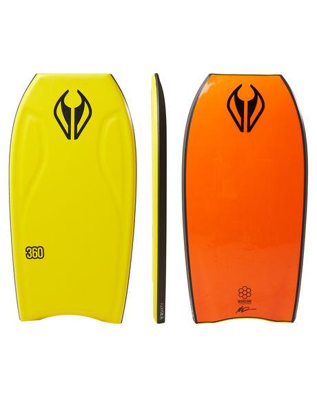 YELLOW SURF BODYBOARDS NMD BODYBOARDS BOARDS - N18THREE42YEYELL