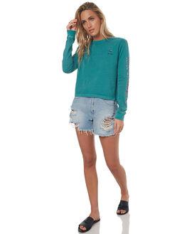 LCD GREEN WOMENS CLOTHING RVCA TEES - R272093667