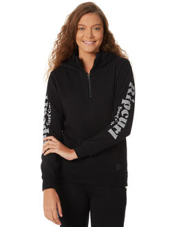 BLACK WOMENS CLOTHING RIP CURL JUMPERS - GFEGK1BLK