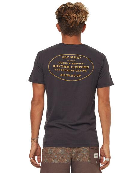 CHARCOAL MENS CLOTHING RHYTHM TEES - JAN18M-PT11CHA
