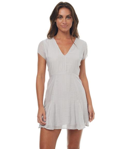 MATTE SILVER WOMENS CLOTHING RUE STIIC DRESSES - SO1703VMSILV