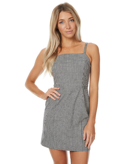 GINGHAM WOMENS CLOTHING THE HIDDEN WAY DRESSES - H8172441GING