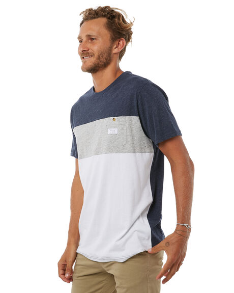 NAVY MENS CLOTHING RIP CURL TEES - CTEJL20049