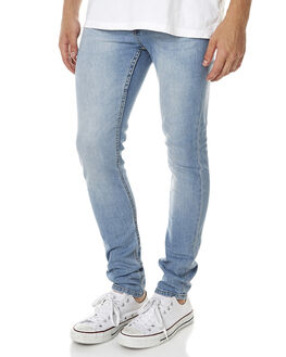 STONEWASH BLUE MENS CLOTHING CHEAP MONDAY JEANS - 0207463STNWS