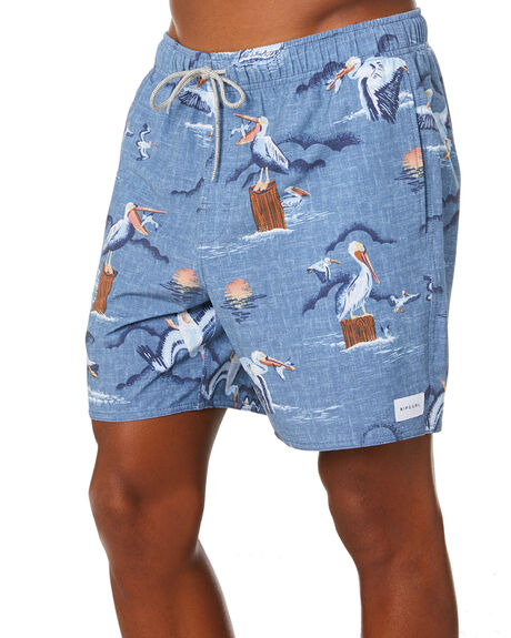 NAVY MENS CLOTHING RIP CURL BOARDSHORTS - CBOCW90049
