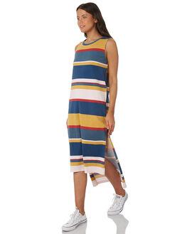 MULTI WOMENS CLOTHING RUSTY DRESSES - DRL0939MTI