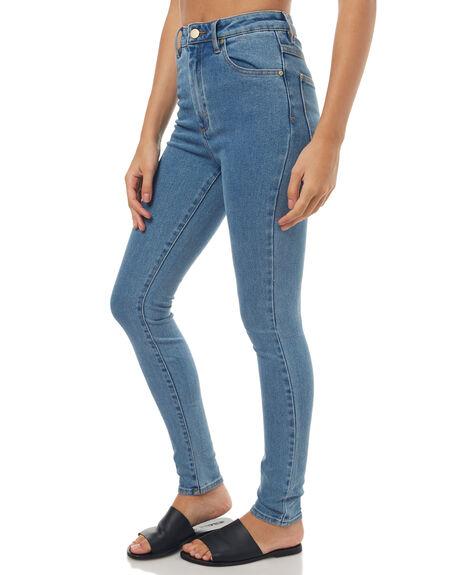 LA BLUES WOMENS CLOTHING A.BRAND JEANS - 70075LAB
