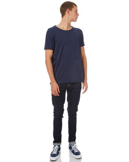 RINSE TWILL MENS CLOTHING NUDIE JEANS CO JEANS - 112455RINTW