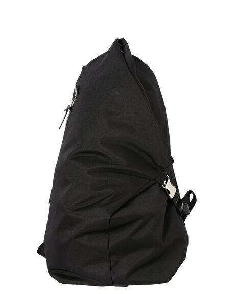 BLACK MENS ACCESSORIES HARVEST LABEL BAGS + BACKPACKS - HLO0935-BLK