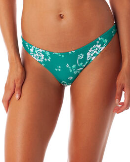EMERALD WOMENS SWIMWEAR RHYTHM BIKINI BOTTOMS - OCT19W-SW13EMD